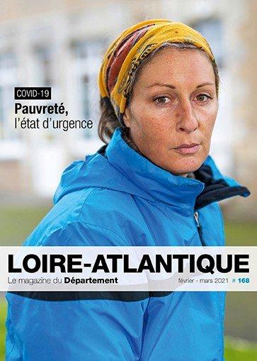 Magazine Loire-Atlantique n° 168 - Pauvreté : l'état d'urgence
