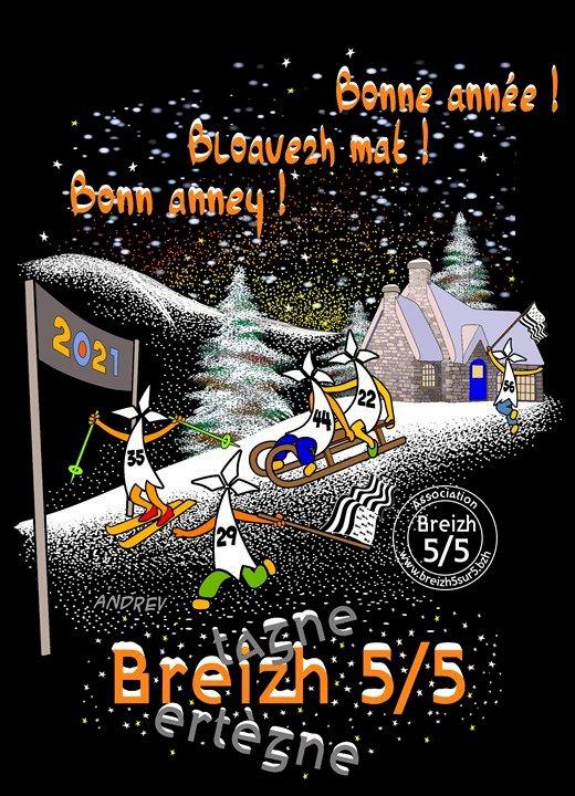 Bonne Année ! Bloavezh Mat ! Bonn Anney !