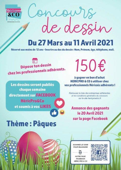 Héricpro&Co : Concours de dessin sur le thème de Pâques