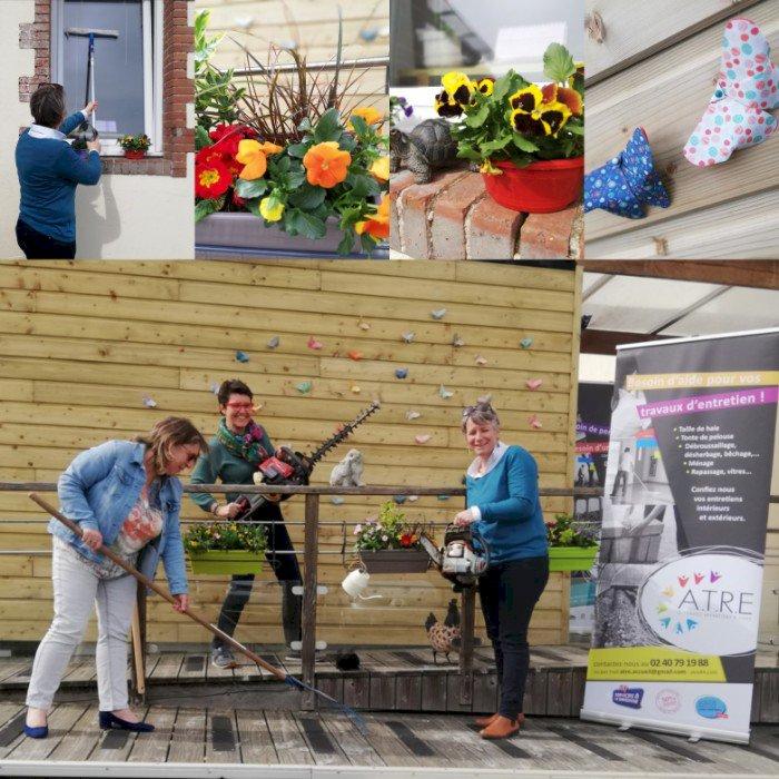 Le printemps est là : pensez aux travaux à la maison et au jardin avec l'ATRE à Blain !
