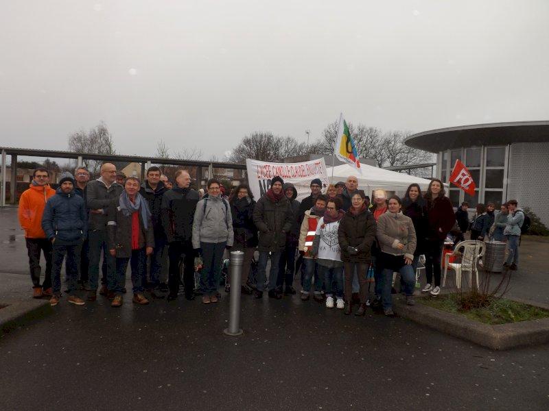Blain : grève et manifestation contre le nouveau bac, des épreuves reportées