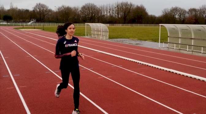 Course à pied : la championne de France Stéphanie Gicquel s'est entraînée à Blain
