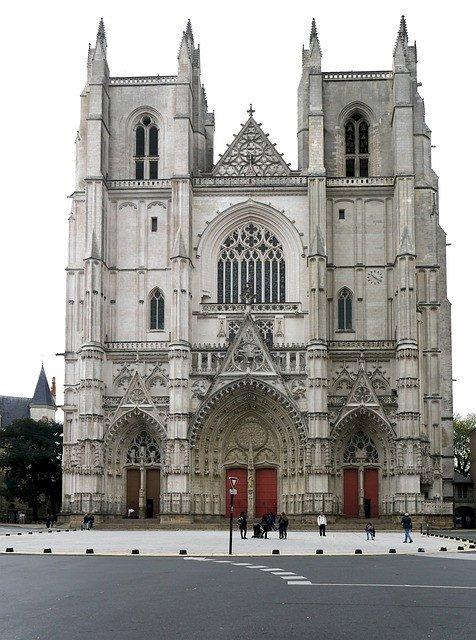 Spectacle féérique la cathédrale de Nantes