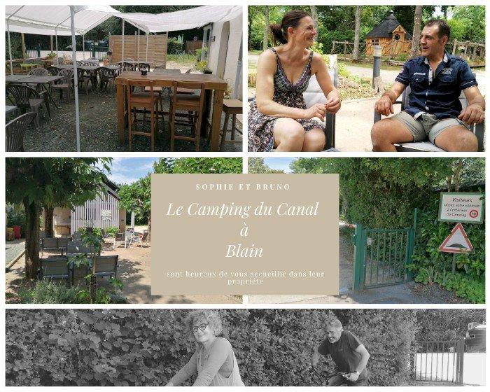 Le camping du Canal à Blain vous ouvre ses portes