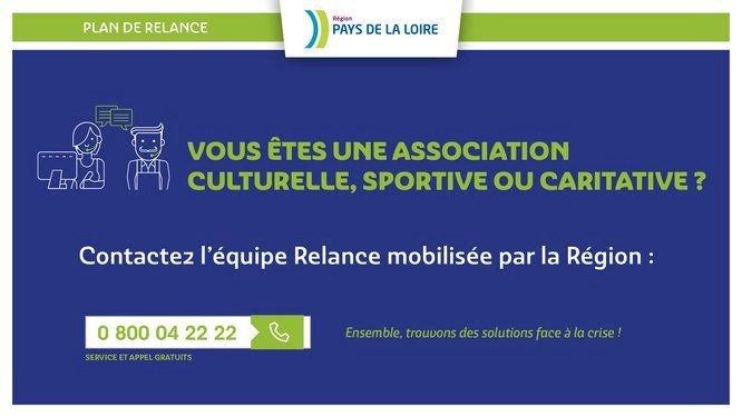 Associations culturelle, sportive ou caritative : les dispositifs du Plan de Relance Régional