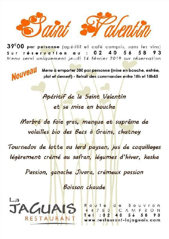 LA JAGUAIS - Saint-Valentin