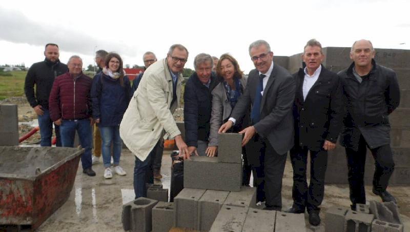 Plessé. Deux ateliers-relais construit à la Ville-Dinais