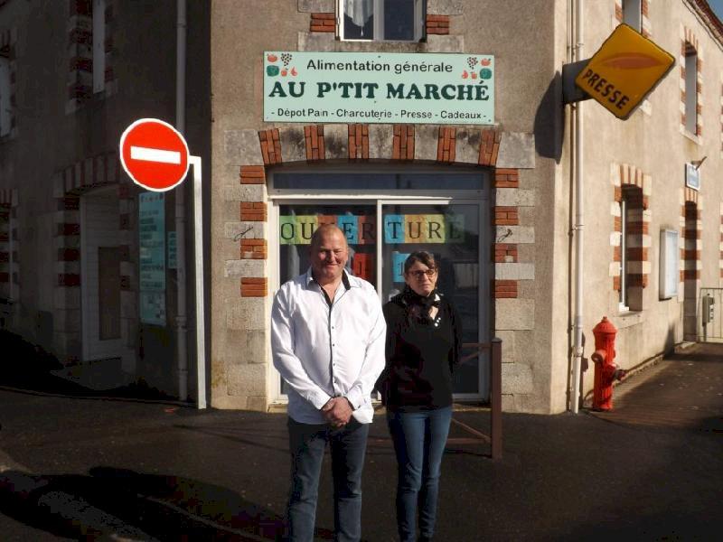 À Blain, l'épicerie Au P'tit Marché a rouvert ses portes