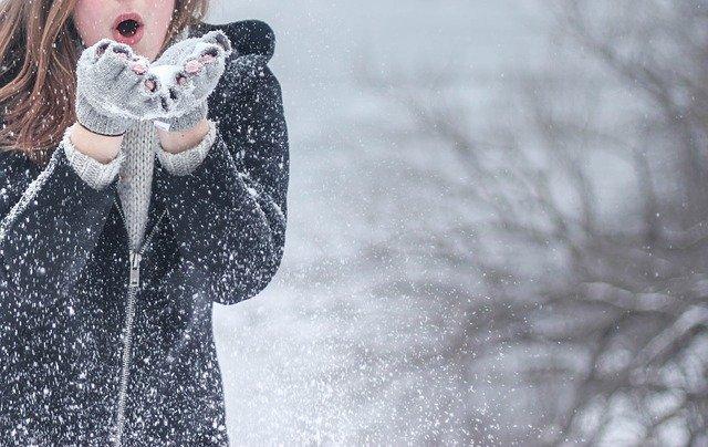 Neige dans le pays de Châteaubriant et alentours.