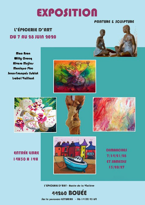 Exposition Peinture et Sculpture