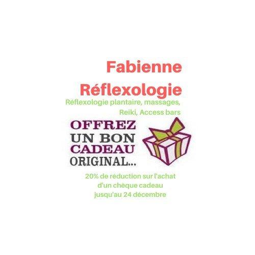 """Fabienne Réflexologie """"Pour Noël, faites plaisir à vos proches !"""""""