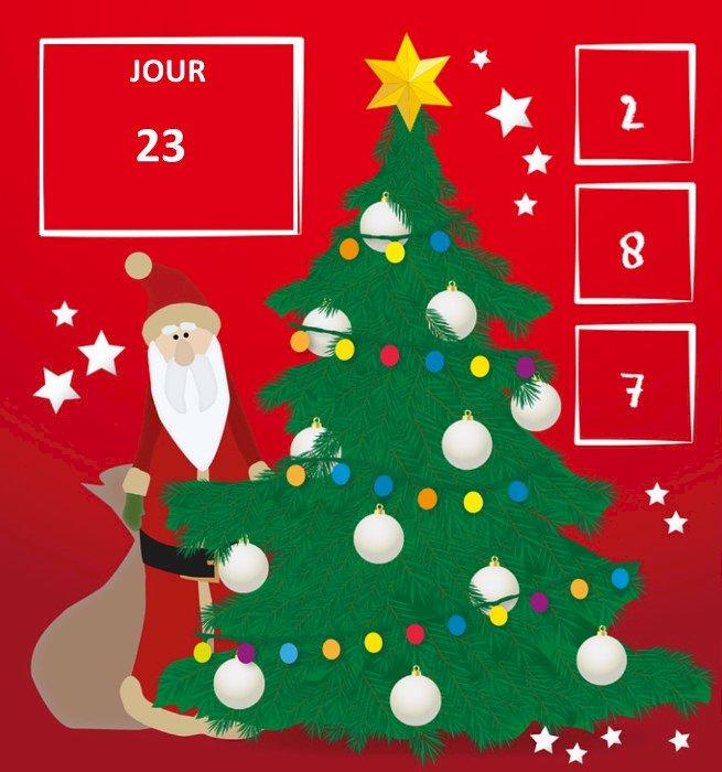 Jour 23 du calendrier de l'avent « Cap Couleurs »