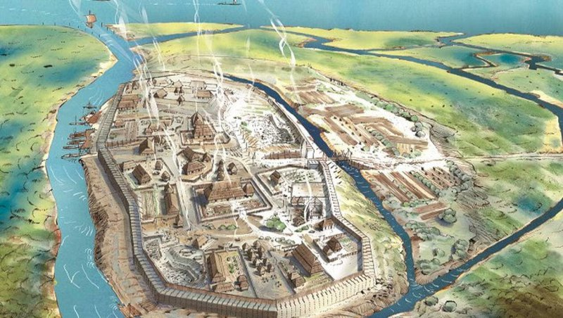 Vue. À Vue, l'oppidum recréé dans la revue d'histoire