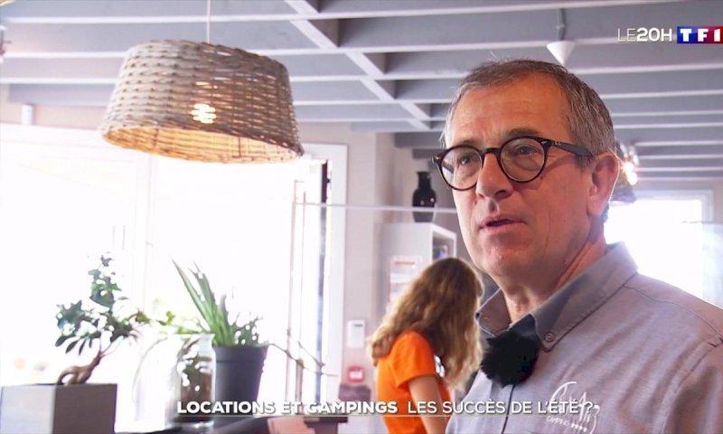 Campings, maison d'hôtes... ils s'organisent pour accueillir les premiers vacanciers - Le journal de 20h | TF1