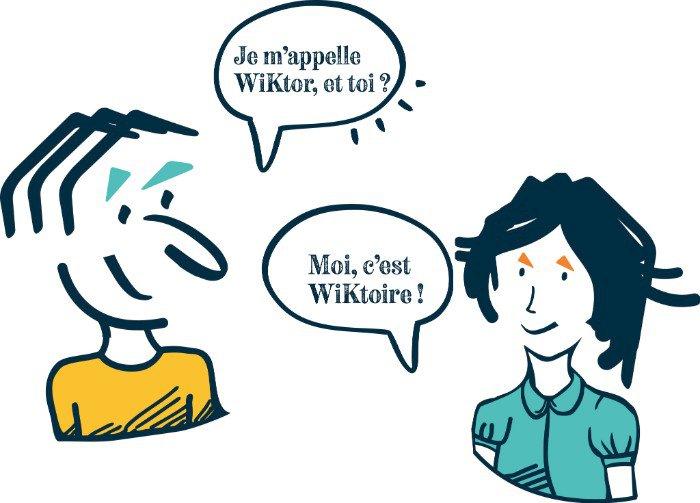 WiKtor et WiKtoire, les toutes nouvelles mascottes WiKer arrivent !