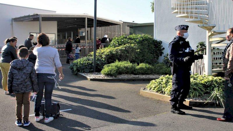 La Plaine-sur-Mer. Peu d'élèves pour le retour à l'école Cerclé | Presse Océan