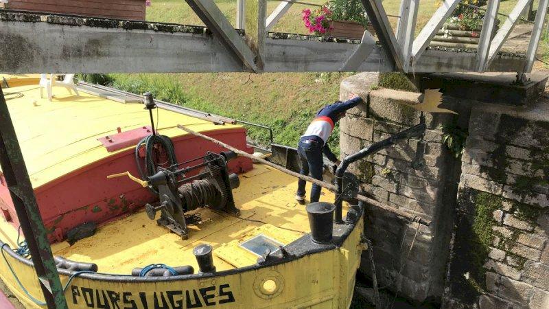 Loire-Atlantique : la navigation sur le canal de Nantes à Brest reprend ce 12 juin