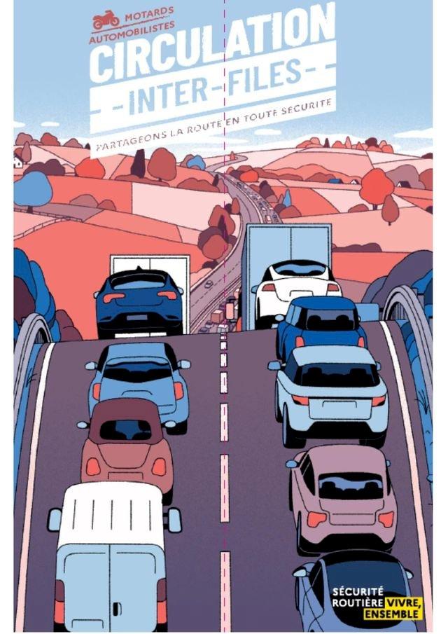 Vous circulez à deux Roues motorisés ?  La circulation inter-files est autorisée à titre expérimental en Loire Atlantique.