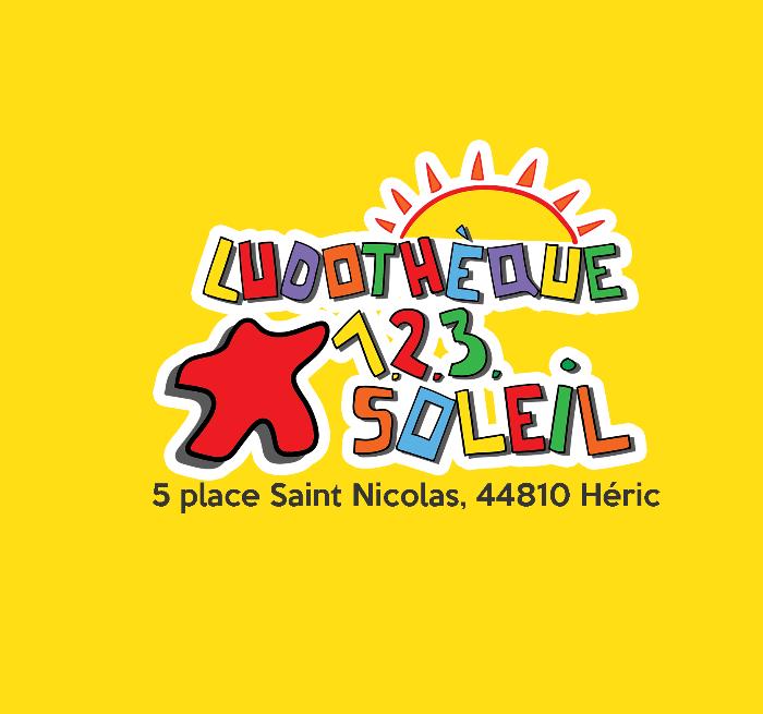 Ludothèque 123 soleil Héric - Informations du mois de Janvier 2021 - Meilleurs Voeux!!!