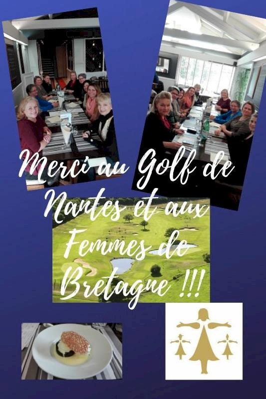Le repas entre Femmes de Bretagne !!!