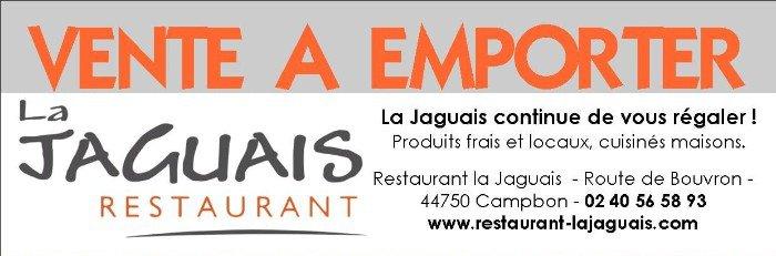 VENTE A EMPORTER à La Jaguais à Campbon !