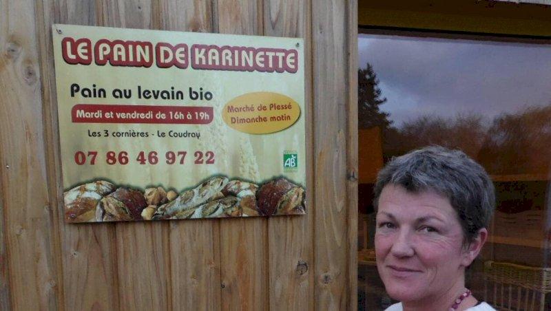 Marché de producteurs locaux et produits bio au Coudray