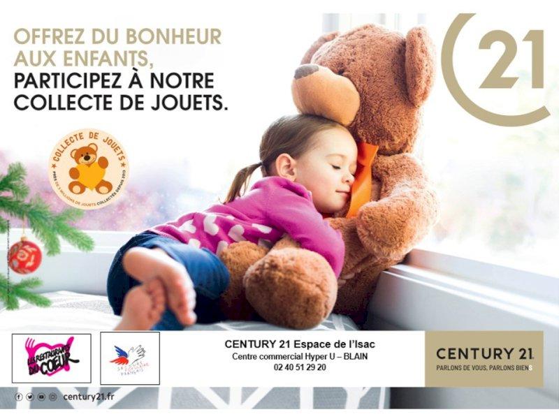 Les nombreux jouets récoltés par Century 21 sont donnés aux associations