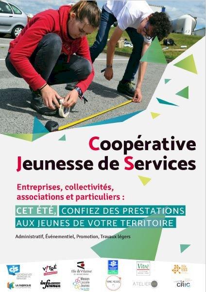 Connaissez vous le dispositif Coopérative Jeunesse de Services ?