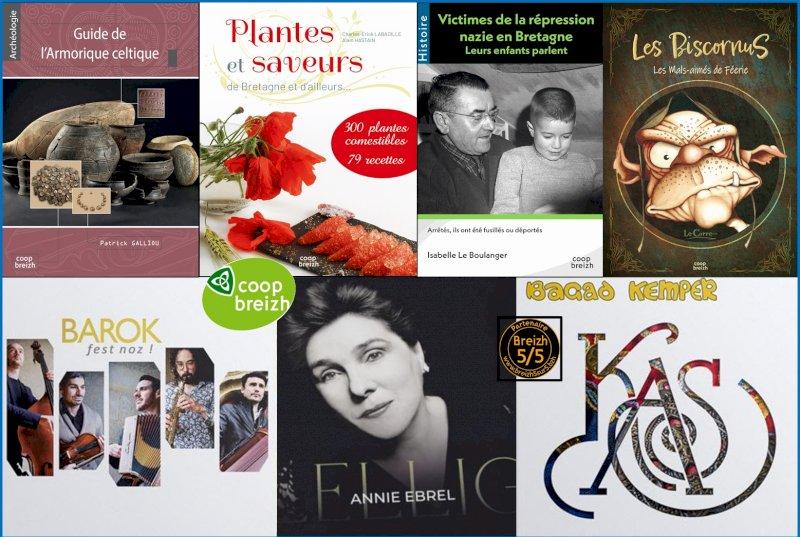 """Les nouveautés de septembre chez """"Coop Breizh"""""""