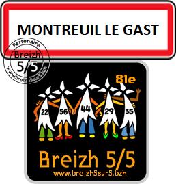 """Une nouvelle commune s'affiche """"Breizh 5/5"""" : Montreuil Le Gast (35)"""