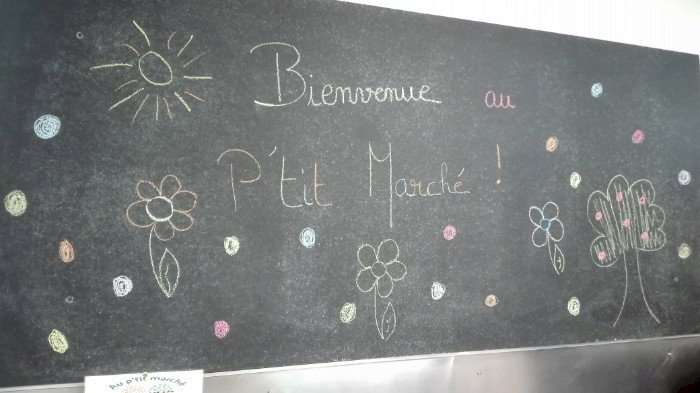Interview de votre épicerie Au P'tit Marché de St Omer de Blain
