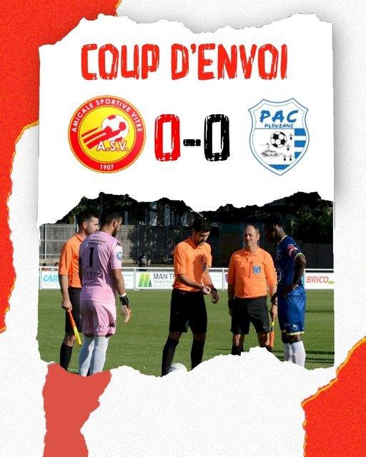 Le Match AS Vitré - Plouzané diffusé sur Facebook
