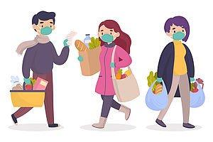 Aide aux achats de premières nécessités