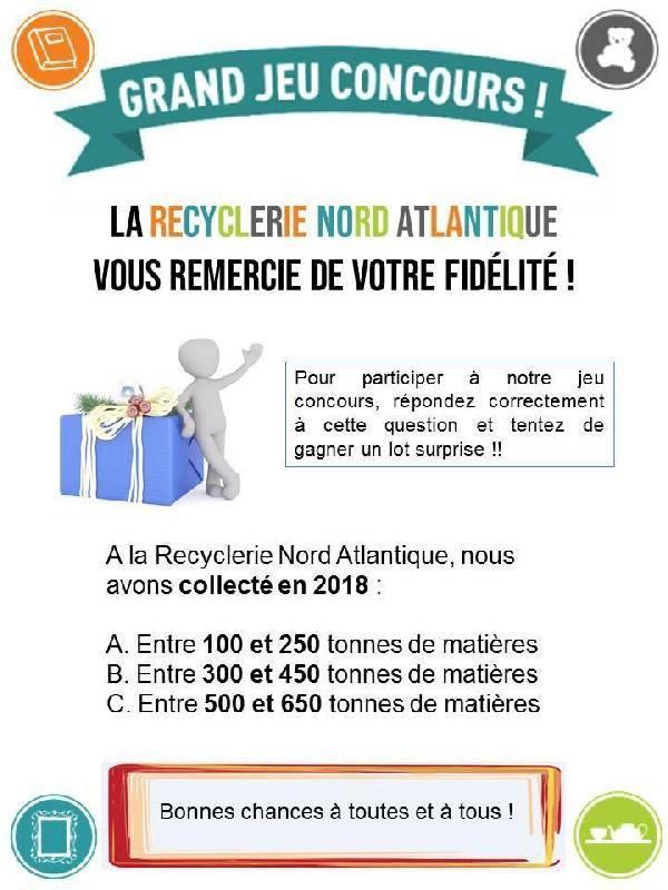 LA RECYCLERIE - JEU CONCOURS sur Facebook !