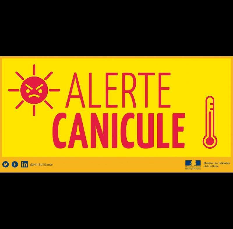 Vigilance - Fortes chaleurs, adoptez les bons réflexes !   Ville de Blain