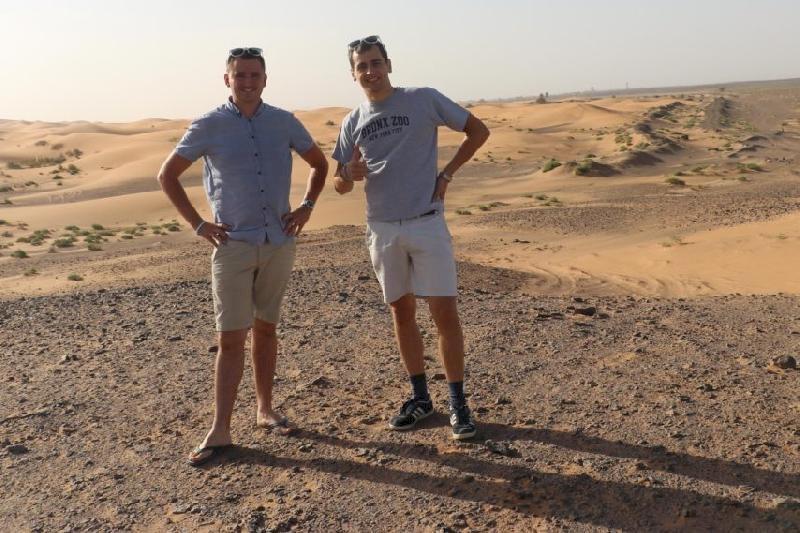 Le premier Nomad raid part à l'assaut du désert marocain, un équipage originaire de Blain