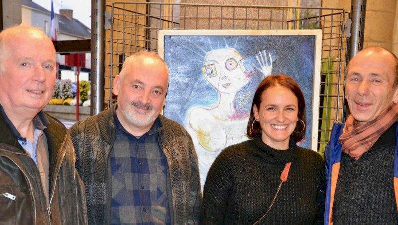 Un quatuor d'artistes locaux expose au musée du Gâvre