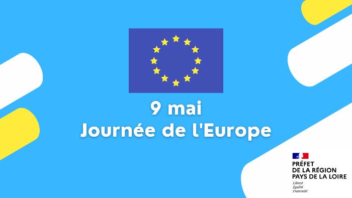 Le 9 mai : Journee de l'Europe