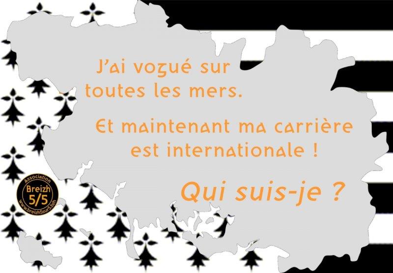 Quizz breton (Indice 4/5) : Attention, je débarque début mai … Qui suis-je ?