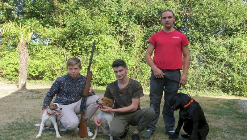 Héric. Six nouveaux chasseurs étrennent leurs fusils