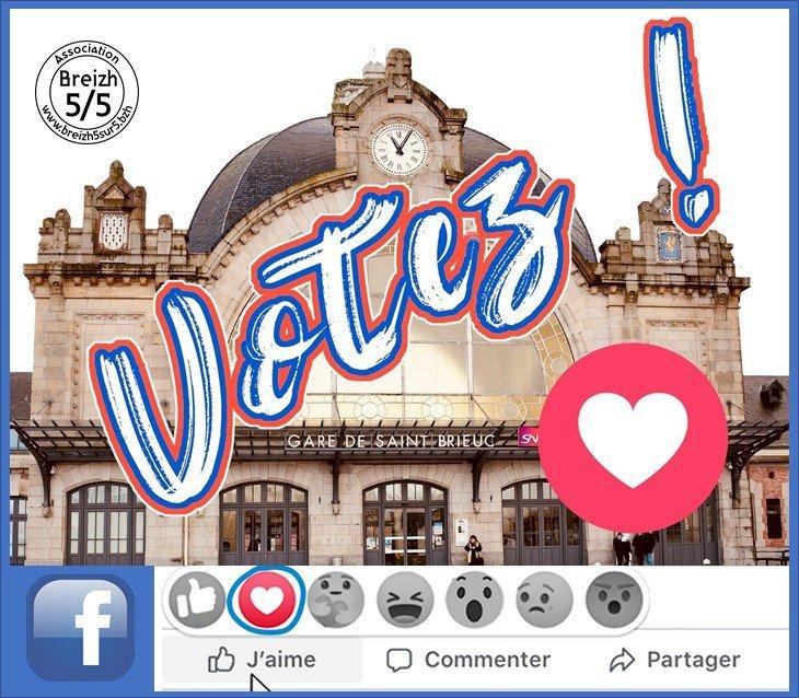 VOTEZ pour la #plusbellegare2020 où Saint-Brieuc défie Limoges ...