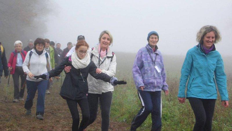 1102participants à la randonnée de la vallée du Don