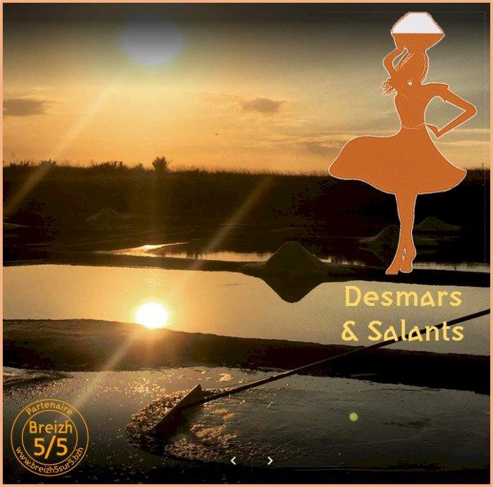 Un nouveau #PartenaireBreizh5sur5 à Guérande : la première paludière … Desmars & Salants