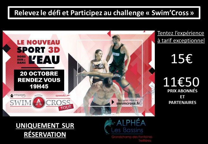 Participez au challenge Swimcross !!