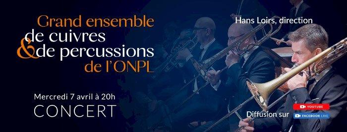 Concert exceptionnel de l'ONPL, retransmis en direct