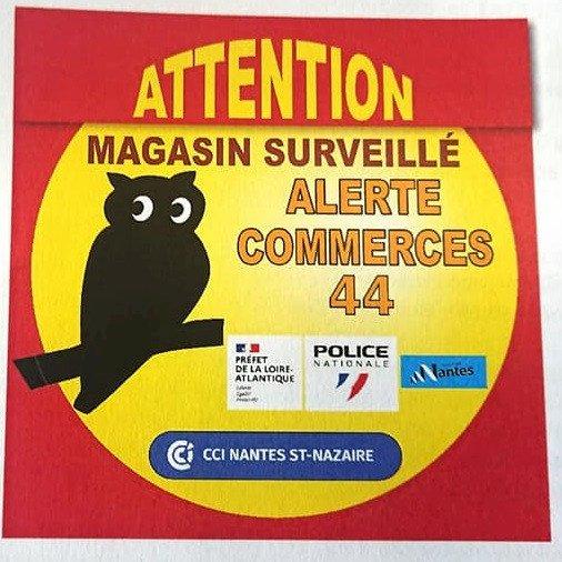 Dispositif d'alerte à destination des commerçants