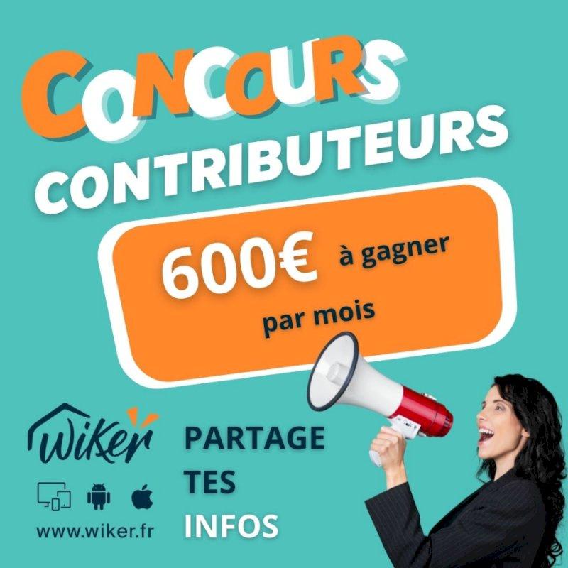 Lancement du concours contributeurs
