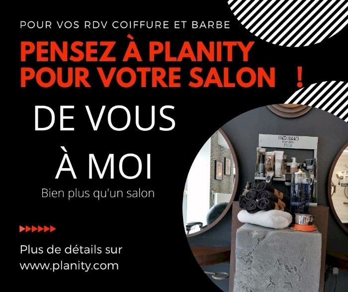 Votre salon De Vous à Moi à Blain prends vos RDV en ligne