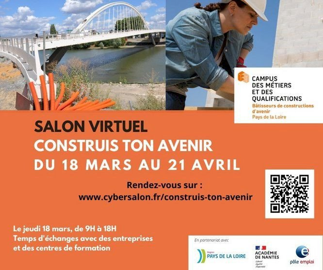 Salon Virtuel :  Construis ton Avenir, du 18 mars au 21 mars