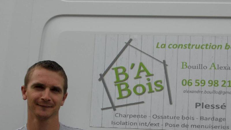 Plessé. Alexandre Bouillo dirige l'entreprise B'A Bois